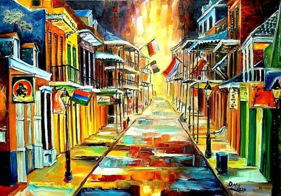 The-Lights-on-Bourbon-Street-SOLD